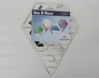 Hex N More Ruler by Jaybird Quilts