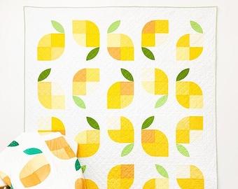 Memi's Lemons Quilt Pattern