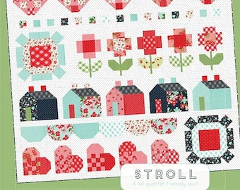 Stroll Quilt Pattern by Thimble Blossoms