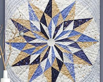Zen Chic Winter Star Quilt Pattern
