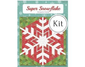 Super Snowflake Quilt Kit