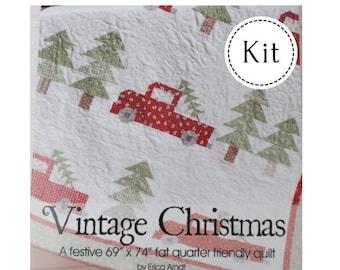 Vintage Christmas Quilt Kit