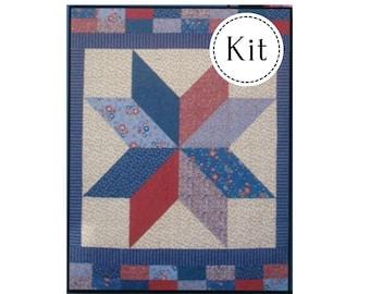 Stars N Stripes Quilt Kit