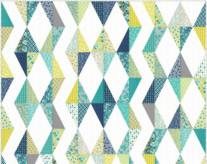 Featured listing image: Summer Lightning Quilt Kit