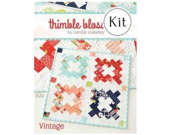 Vintage Mini Quilt Kit