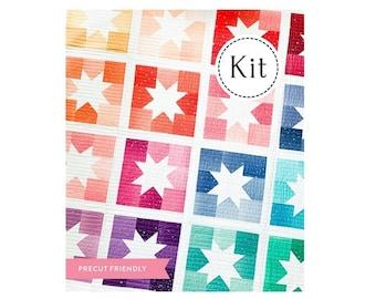 Joyful Stars Quilt Kit