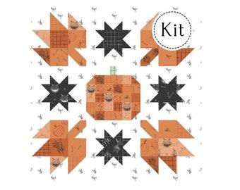 Pumpkin Mini Quilt Kit