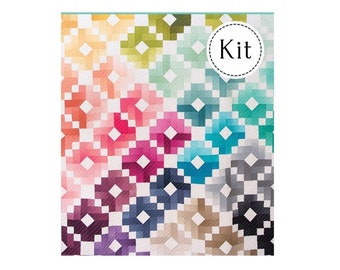 Ombre Gems Quilt Kit*Ombre Quilt Kit*Ombre Gems*Ombre Fairy Dust Quilt*Jelly Roll Quilt*Ombre Quilt*Ombre Gems Quilt*Rainbow Quilt*Gems Kit*