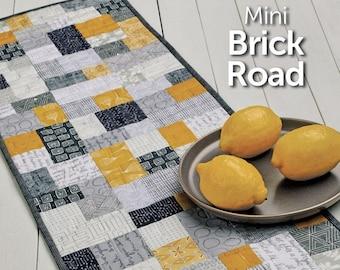 Mini Brick Road Table Runner Pattern