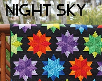 Night Sky Quilt by Jaybird Quilts