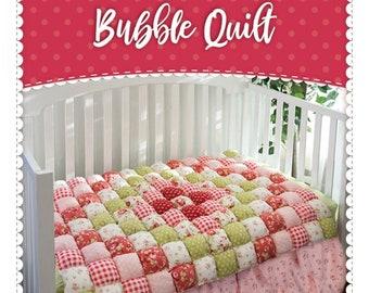 Bubble Quilt Pattern*Bubble Quilt*Bubble Pattern*Baby Quilt Pattern*Baby Bubble Quilt*Bubble Quilts*Baby Bubble Quilt Pattern*Stuffed Quilt*