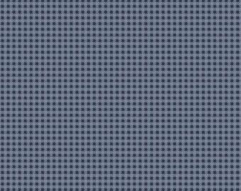 Riley Blake Designs Tranquility Plaid Blue (C9606-BLUE)