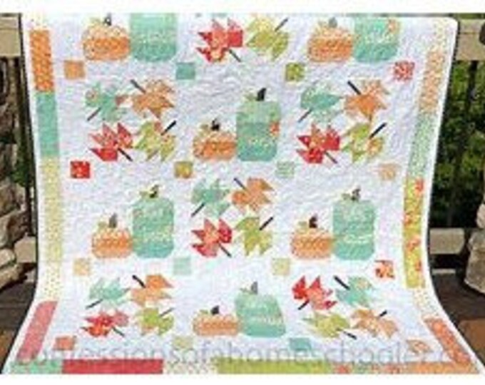 Featured listing image: Farmhouse Fall Quilt Pattern