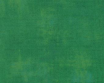 Moda Grunge Basics Kelly Green (30150 232) 1/2 Yard Increments