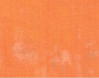 Moda Grunge Basic Clementine (30150 284) 1/2 Yard Increments