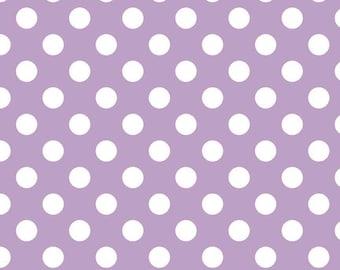 Riley Blake Medium Dot Lavender (C360-120 LAVENDER)