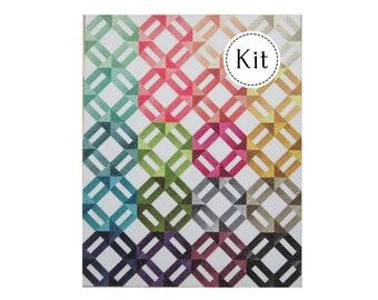 Ombre Weave Quilt Kit