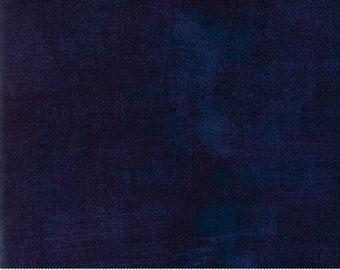 Moda Grunge Basics Peacoat (30150 353) 1/2 YD Increments