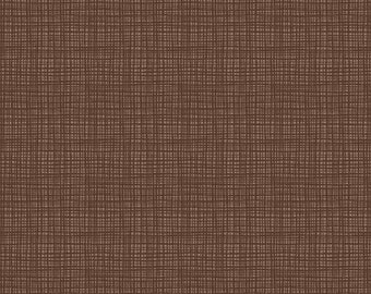 Riley Blake Designs Texture Chocolate (C610-CHOCOLATE) 1/2 Yard Increments