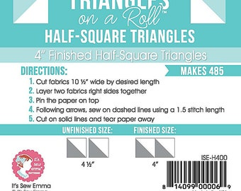 Triangles on a Roll 4 inch