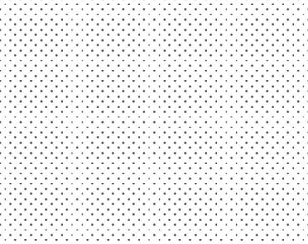 Basics Whisper White by RBD Designers for Riley Blake 1//2 yard cotton fabric