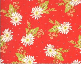 Moda Happy Days Carnation Geranium (37600 14) 1/2 Yard Increments
