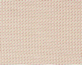 Moda Red Barn Christmas X's - Multi (55539 24) 1/2 Yard Increments