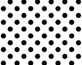 Tula Pink Linework Pom Poms Paper (PWTP118.PAPER) 1/2 Yard Increments