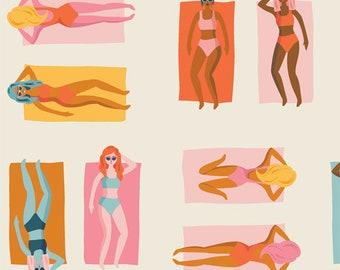 Art Gallery Fabrics Sunburst Fun in the Sun Warm (SUN-26440) 1/2 Yard Increments