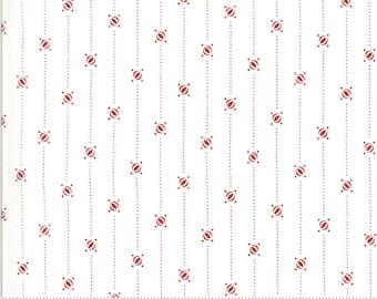 Moda Harbor Springs Red Shirting Stripe (14900 14)