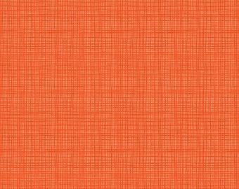 Riley Blake Designs Texture Orange (C610-ORANGE) 1/2 Yard Increments