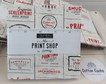 The Print Shop by Sweetwater for Moda Charm Pack (5740PP)
