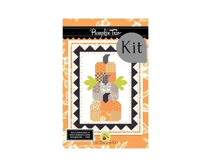 Featured listing image: Pumpkin Trio Quilt Kit