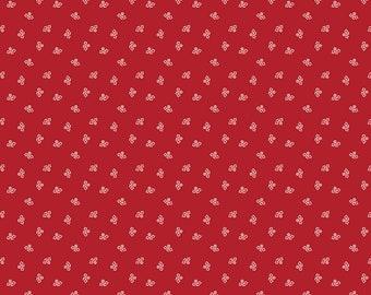 Riley Blake Designs Prim Blossom Barn Red (C9691-BARNRED)