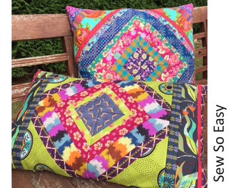 Gypsy Pillows Pattern from Lynne Wilson Designs