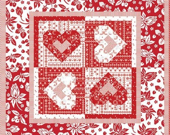 The Heart to Heart Quilt Pattern