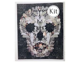 Mr. Skellington Quilt Kit