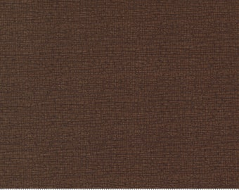 Moda Thatched Chocolate Bar (48626 164) 1/2 Yard Increments