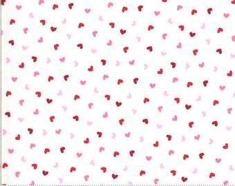 Moda Be Mine Sweetness Love Dove (20717 11) 1/2 Yard Increments