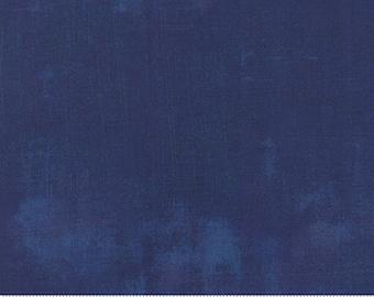 Moda Grunge Basics New Navy (30150 302) 1/2 Yard Increments