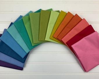 RiLey Blake Designs Rainbow FQ Bundle (CC 1005 D)