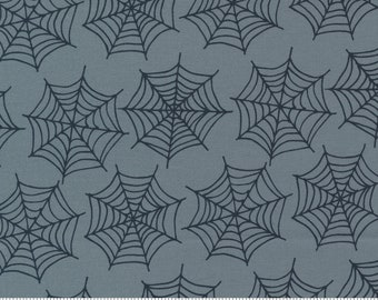 Moda Holiday Essentials Halloween Spiderwebs (20732 13) 1/2 Yard Increments