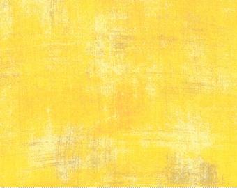 Moda Grunge Basic Sunflower (30150 281) 1/2 Yard Increments