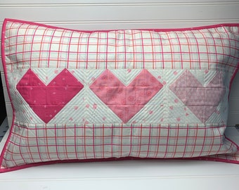 Heart Pillow Sham Kit