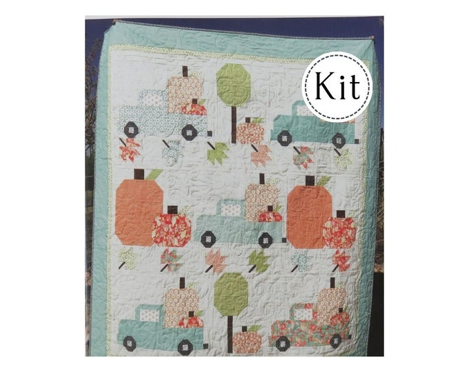 Featured listing image: Vintage Fall Quilt Kit