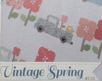 Vintage Spring Quilt Pattern by Erica Made