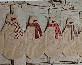 Snowman Table Runner by Sweetwater