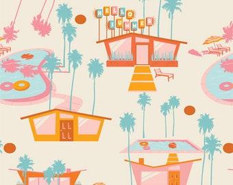 Art Gallery Fabrics Sunburst Hello Summer Hot (SUN-26446) 1/2 Yard Increments