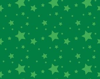 Riley Blake Designs Create Starlight Dark Green (C9806-DKGREEN)