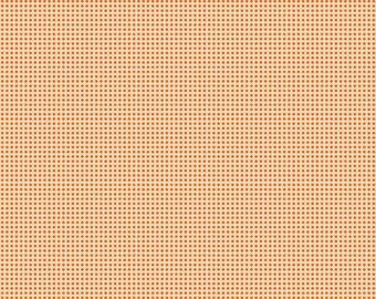 Free Spirit Spooktacular Distressed Dot Orange (PWMA008.XORANGE) 1/2 yard Increments